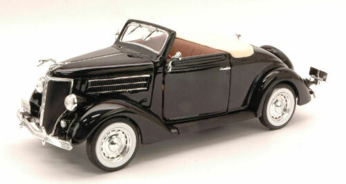 Ford Deluxe Cabriolet 1936 Black 1:24 Model 2422 WELLY