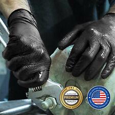 Black Diamond Grip Nitrile Glove 8 Mil Heavy Duty Powder Free Xx Large 50 Pcs