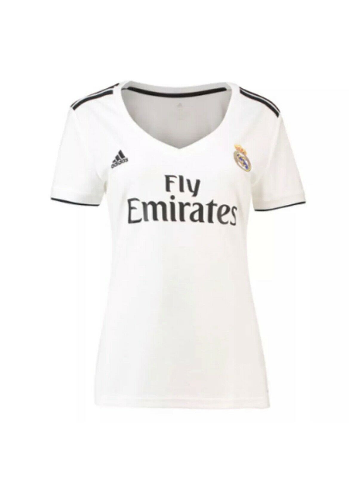 Adidas Real Madrid Wohombres Home Jersey 18 19 Zoom muestran Colors originales Whit
