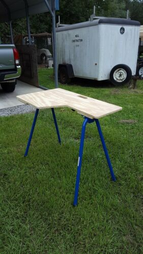 Target Precision Rb H1034 Rugged Buddy 34 Inch Folding Sawhorse Legs For One Complete Ebay