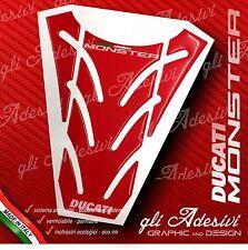 Paraserbatoio Resinato Sticker 3D DUCATI MONSTER 696 796 1100 mod. P8