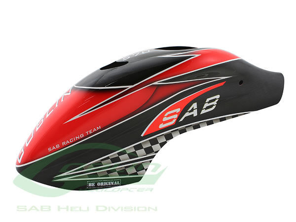 Canomod Airbrush Canopy SAB Red Carbon - Goblin 570