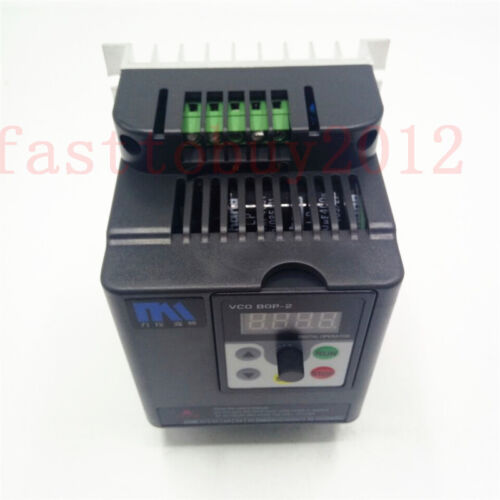 10HP 7.5KW 380V VFD 16A 500Hz VFD AC Drive Control for 3Phase Asynchronous Motor