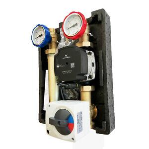 Pumpengruppe-mit-Drei-Wegemischer-und-Hocheffizienzpumpe-Grundfos-UPM3-Hybrid