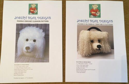 Poodle Handbag And Cushion Crochet Patterns