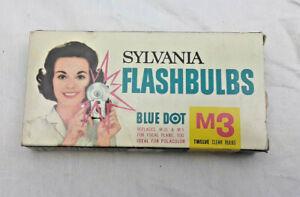 Sylvania FlashBulbs 12 Pack Blue Dot M3 NOS