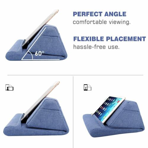 MoKo Tablet Pillow Stand Soft Bed Cushion Holder for iPad Pro 11,iPad 10.2 2019