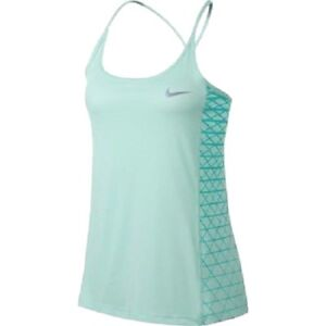 321974ad6342cc New! Nike Dry Women s Dri-Fit Miler Graphic Running Tank Top Light ...