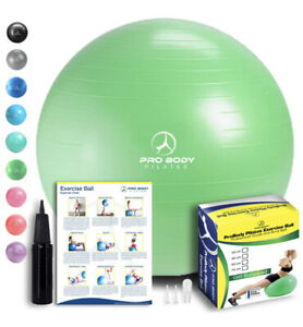 Pilates Pro Body Exercise Ball Core Strength Balance Yoga  55cm Purple