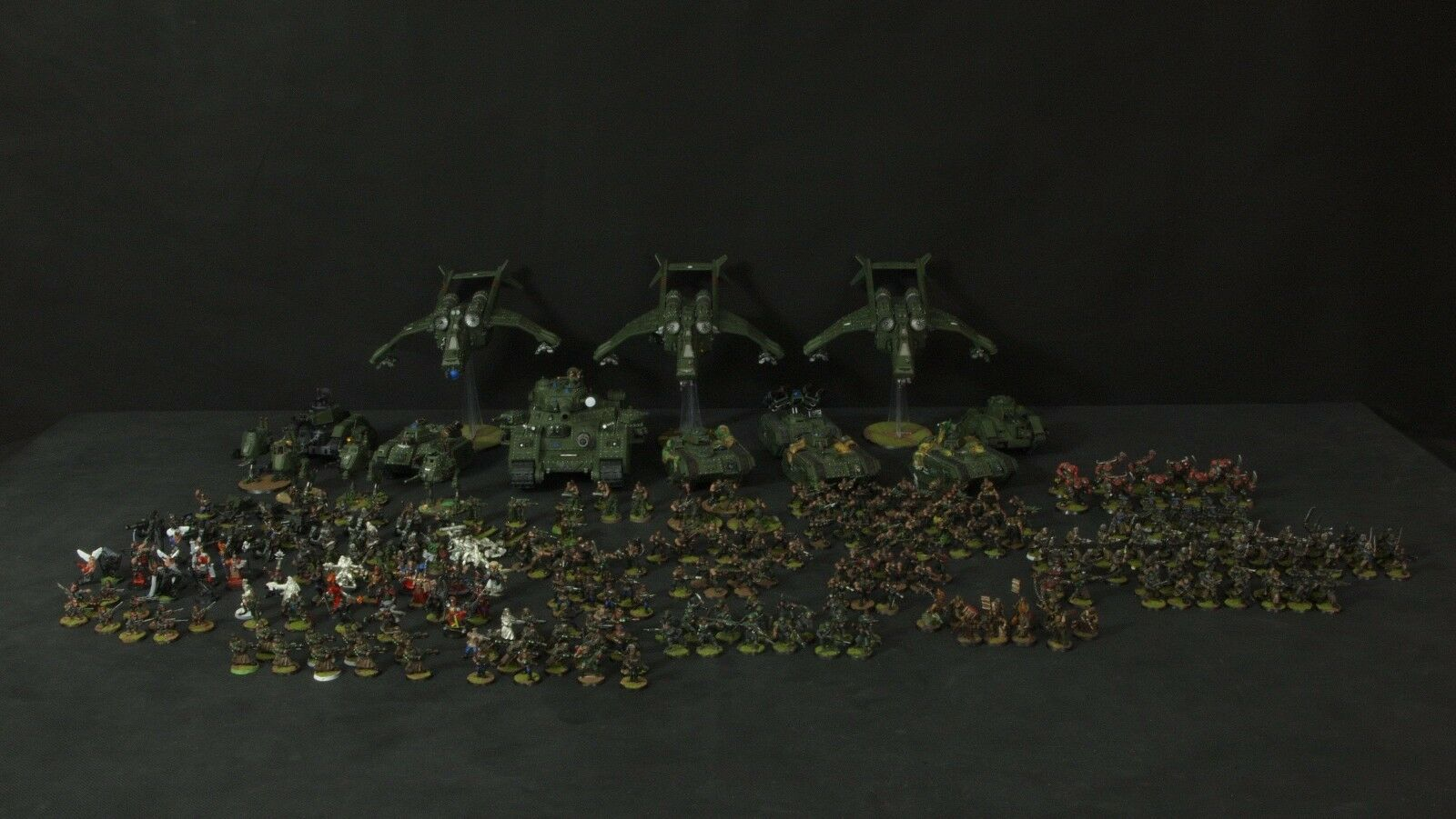 Imperial Guard Collection (pictures in description)
