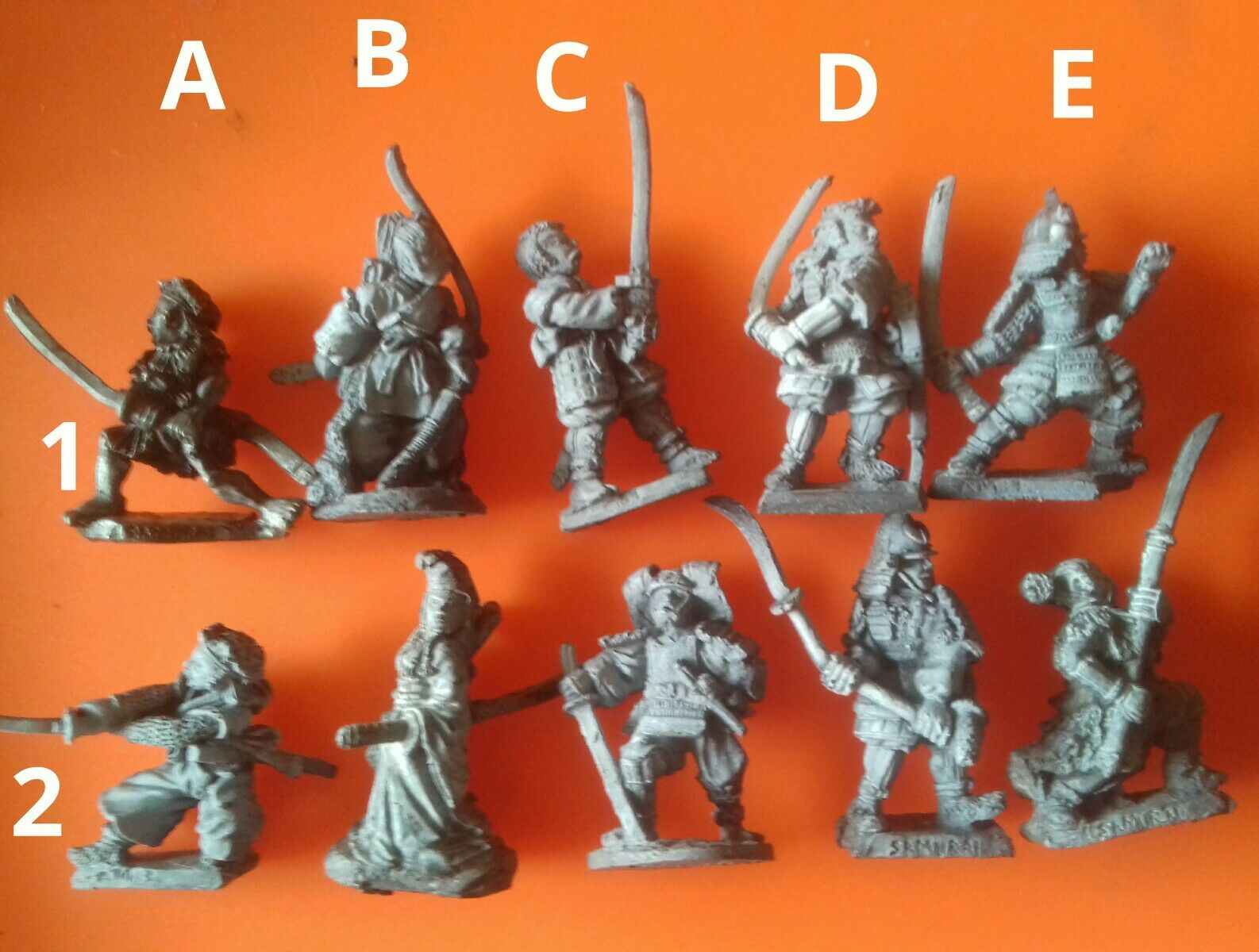 12x DL1 C05 Samurai Ronin oriental luchadores citadel GW Games Workshop pre-slotta