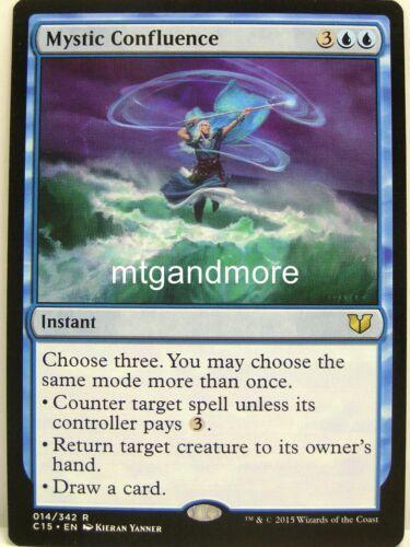 Magic Commander 2015-1x Mystic Confluence