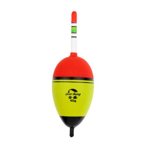 3x EVA Belly Floats Glow Stick Luminous Lighting Night Bobber Fishing Float