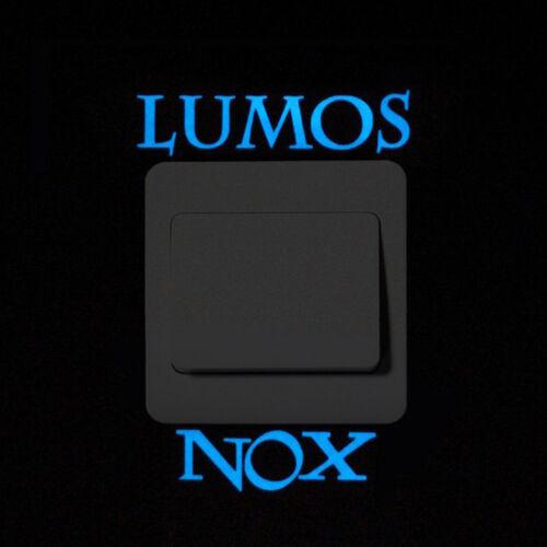 Fluoreszierend Lichtschalter Nachtleuchtend Sticker Wandtattoo Aufkleber Neu