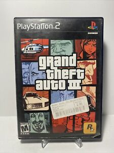 Grand Theft Auto III GTA 3 (PS2) Sony PlayStation 2 - Rockstar Games - Complete