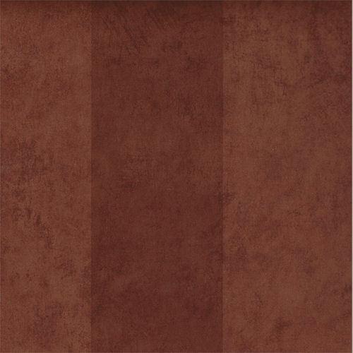 Brown and Dark Brown Alternating Faux Leather Look Stripe Wallpaper AZ5263