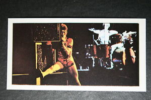 David-Bowie-1970-039-s-Glam-Rock-Era-Photo-Card-EXC
