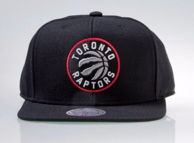 Toronto Raptors Mitchell   Ness Current Logo Solid HWC Wool Snapback Hat  Cap NBA 2f4ab8449258