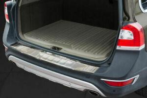 Volvo-XC-70-2013-2018-Chrome-Rear-Bumper-Protector-Scratch-Guard-S-Steel