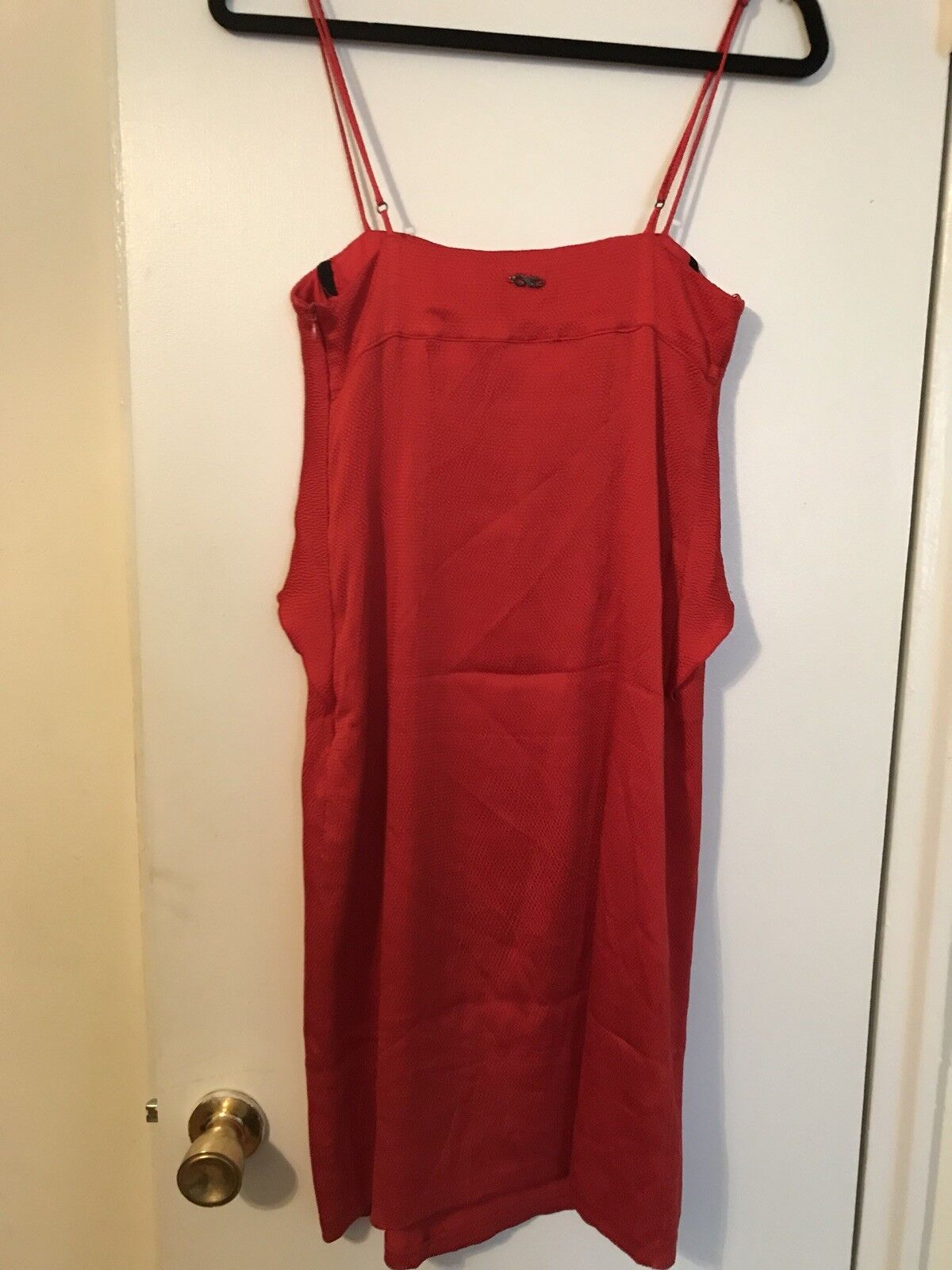C'N'C COSTUME NATIONAL CNC Women Red Silk Party Dress 38 38 38 7885c0