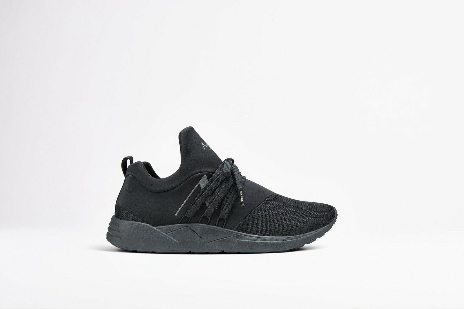 BNIB Arkk Copenhagen Copenhagen Copenhagen Raven Mesh S-E15 Black Reflective Sneakers Trainers Size 40 71be0a