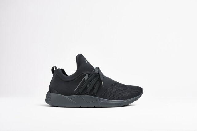 b174324f BNIB Arkk Copenhagen Raven Mesh S-E15 Black Reflective Sneakers Trainers  Size 40