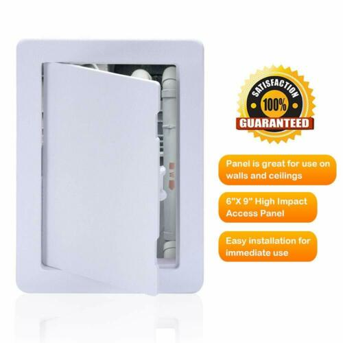 6 X 9 Inch White Access Doors Suteck Plastic Access Panel Drywall Ceiling