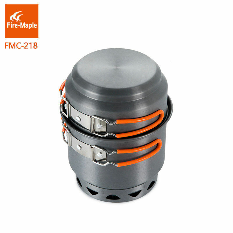 Fire Maple  FMC-218 Outdoor Camping Foldable Heat Exchanger Cooking Cookware  factory outlets