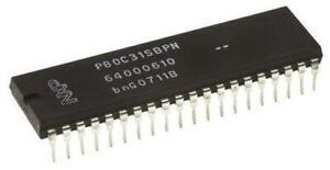 1-x-NXP-P80C31SBPN-112-8bit-80C51-Microcontroller-16MHz-ROMLess-40-Pin