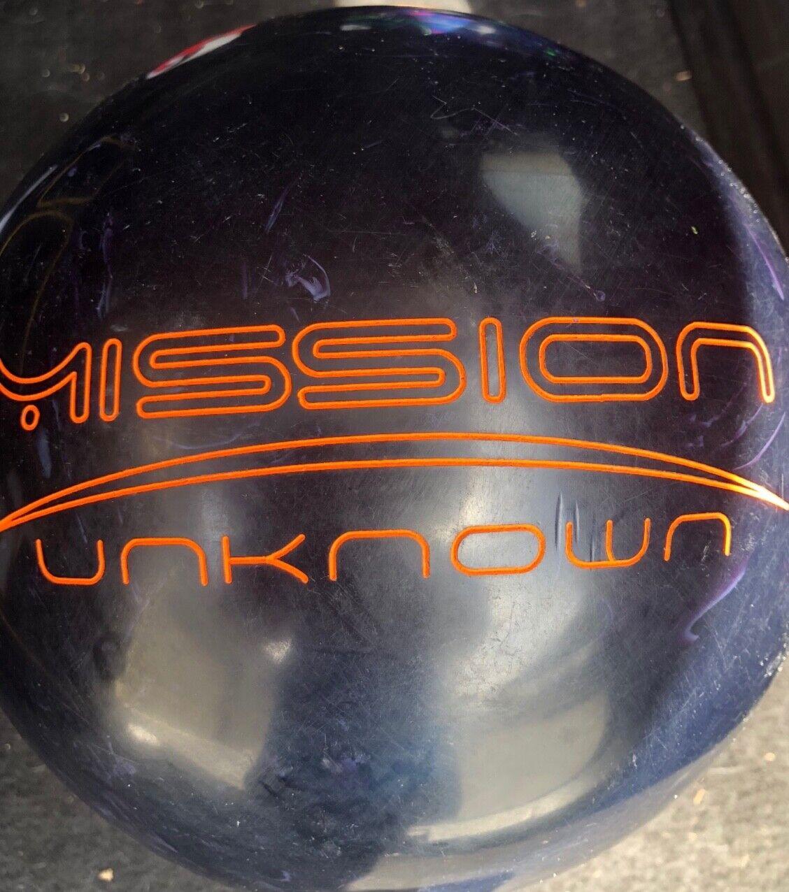 15lb Bolwing Ball Ebonite Mission Unknown