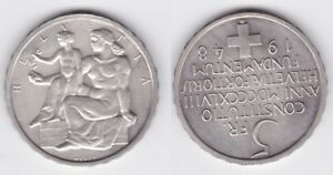 5 Franken Silber Münze Schweiz 100 Jahre Verfassung 1948 B (125816)