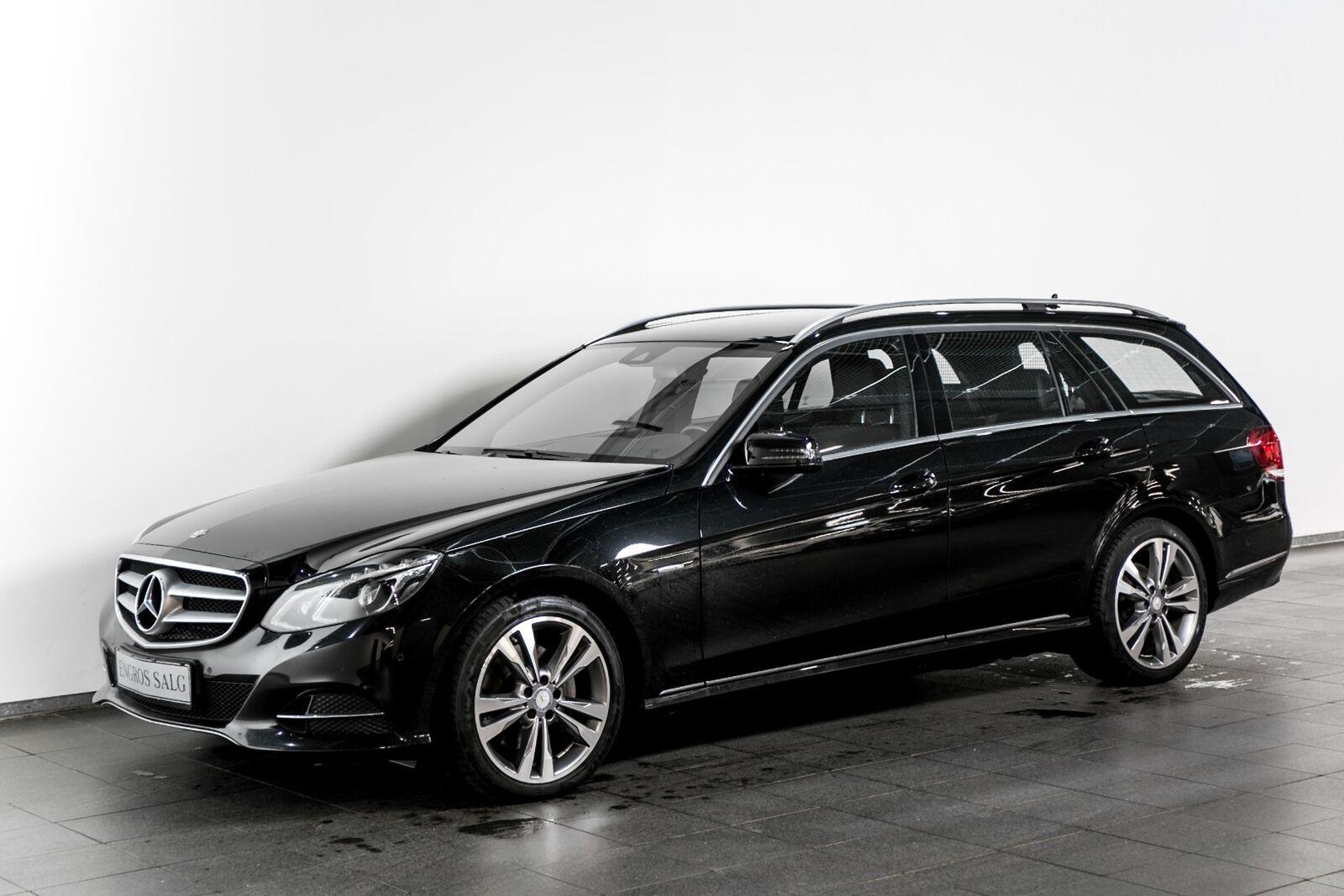 Mercedes-Benz E350 3,0 BlueTEC Edition E stc aut. 4-M