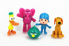 5pcs/set Cartoon Pocoyo Zinkia Toys Action Figures Kids Unisex Xmas Gift Toys
