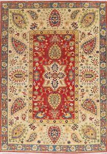6-039-x-9-039-Geometric-Super-Kazak-Hand-Knotted-Oriental-Area-Rug-Home-Decor-Carpet