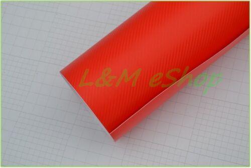 High Quality 3D Carbon Vinyl Wrap Sheet Car Wrap Various Colours Air Bubble Free