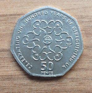 50p coin values girl guides : Drgn coin nedir eye
