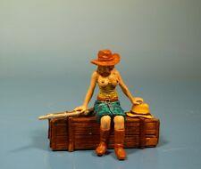 Lineol / Elastolin - Wild West – Cowgirl – 7cm Serie
