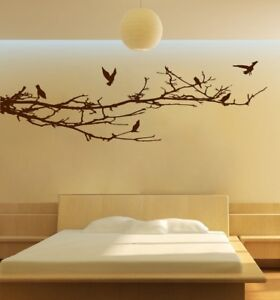 Incroyable Details About EXTRA LARGE TREE BRANCHES BIRDS WALL ART   STICKERS BEDROOM  BATHROOM LIVING ROOM