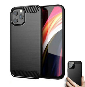 Shockproof-Silicone-ARMOUR-CASE-For-iPhone-12-Mini-11-Pro-XR-X-Max-Cover-Black