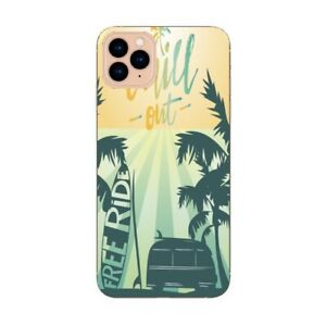 Coque Iphone 12 PRO MAX Summer chill surf tropical summer van