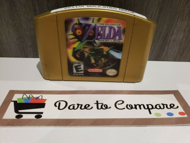 Legend of Zelda: Majora's Mask Holographic CART ONLY (Nintendo 64, 2000) READ