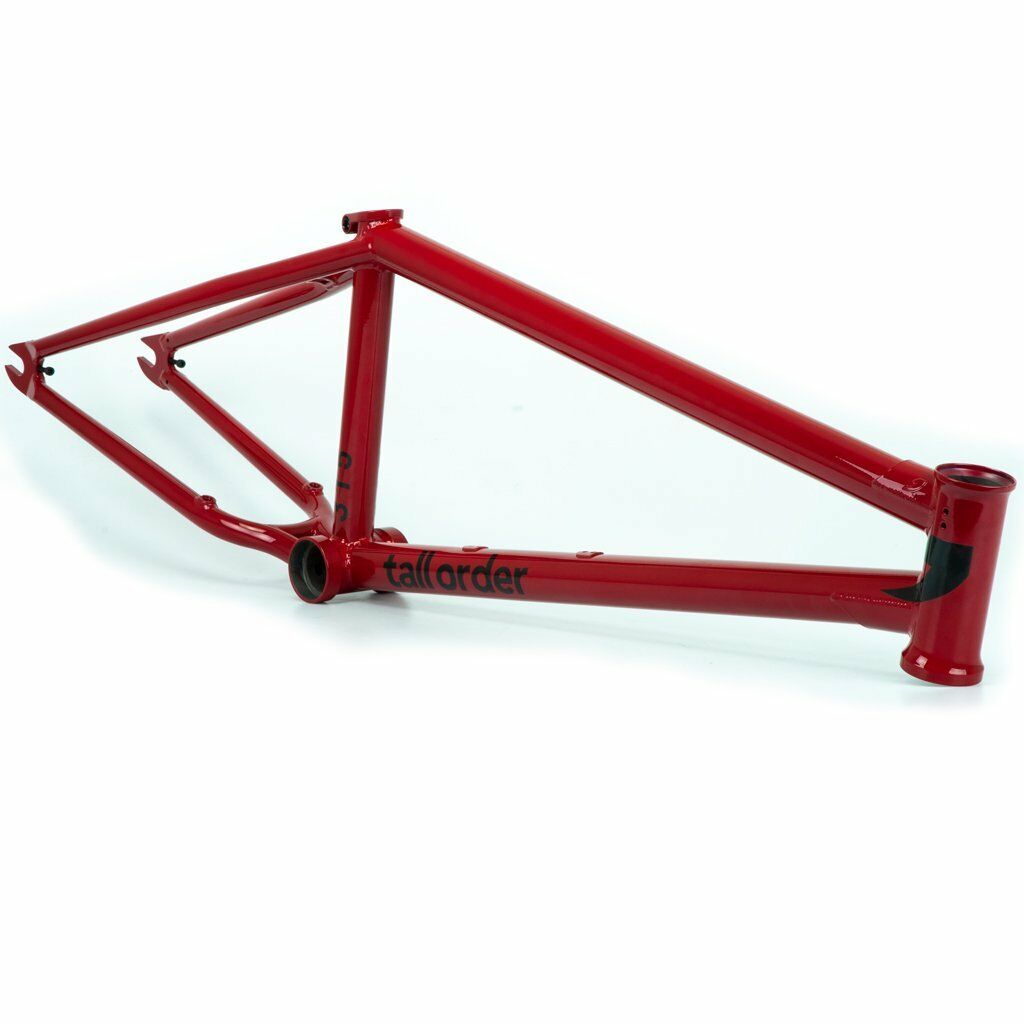 TALL ORDER BMX FRAME 315 GLOSS RED 21.5 BIKE BIKES 21.5  S&M Sebastian Keep