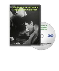 Vintage Schizophrenia and Mental Illness Treatment Hospital Film Set
