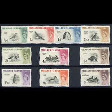 FALKLAND ISLANDS 1960-66 Short Set to 1s SG 193-202. Fresh MLH. (AR118)