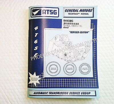 4T65E Transmission ATSG Technical Manual for Service and Repair for GM
