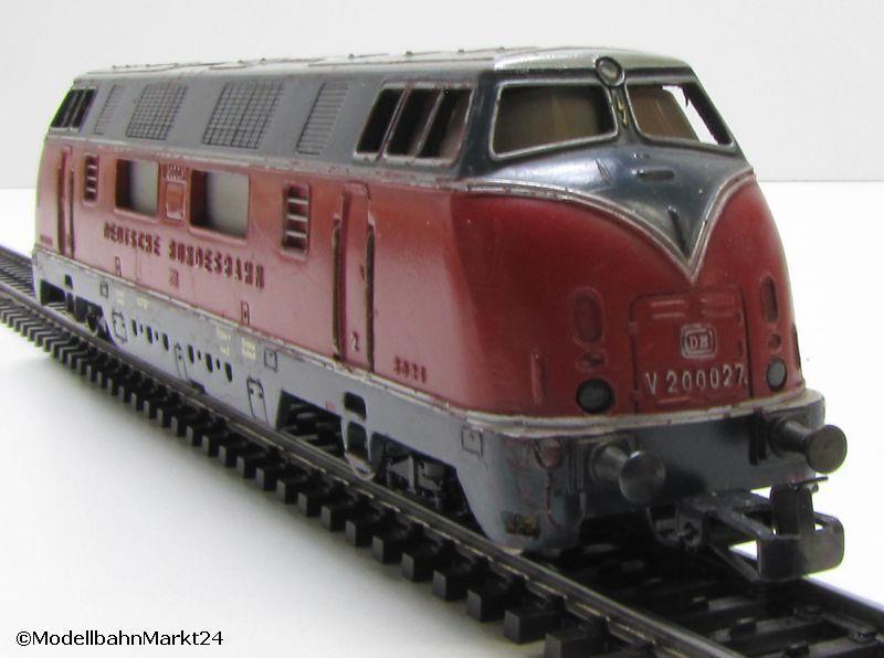 MÄRKLIN 3021 DB Diesellok V 200 027 Spur H0 Epoche III  | Gewinnen Sie das Lob der Kunden