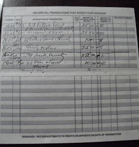 RARE Authentic Joseph Bonanno Page from His Checkbook with COA LOOK