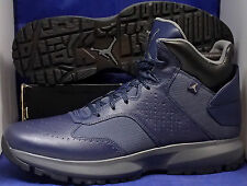 Nike Air Jordan 23 Degrees F Obsidian Blue Black Boots SZ 15 ( 535753-402 )