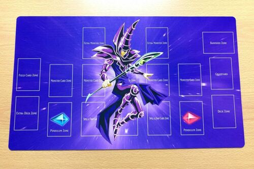 Free Mat Bag Yugioh Trading Card Game Playmat Dark Magician Play Mat F1889