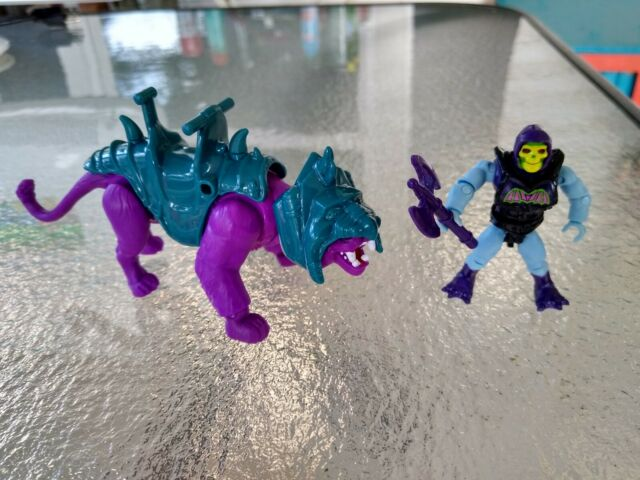 Mega Construx Masters Of The Universe MOTU Panthor & Skeletor from Point Dread
